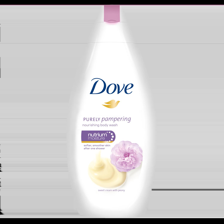 Dove Purely Pampering Sweet Cream with Peony Ενυδατικό Αφρόλουτρο, 500ml