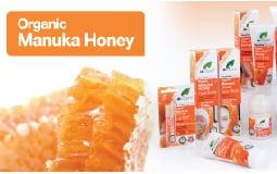 Βιολογικό Μέλι Μανούκα