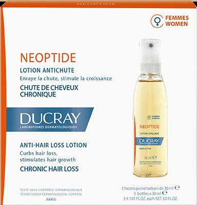 Ducray Neoptide Women Lotion (PROMO -15%) Λοσιόν Αγωγής κατά της Προοδευτικής Τριχόπτωσης στη Γυναίκα, 3 x 30ml