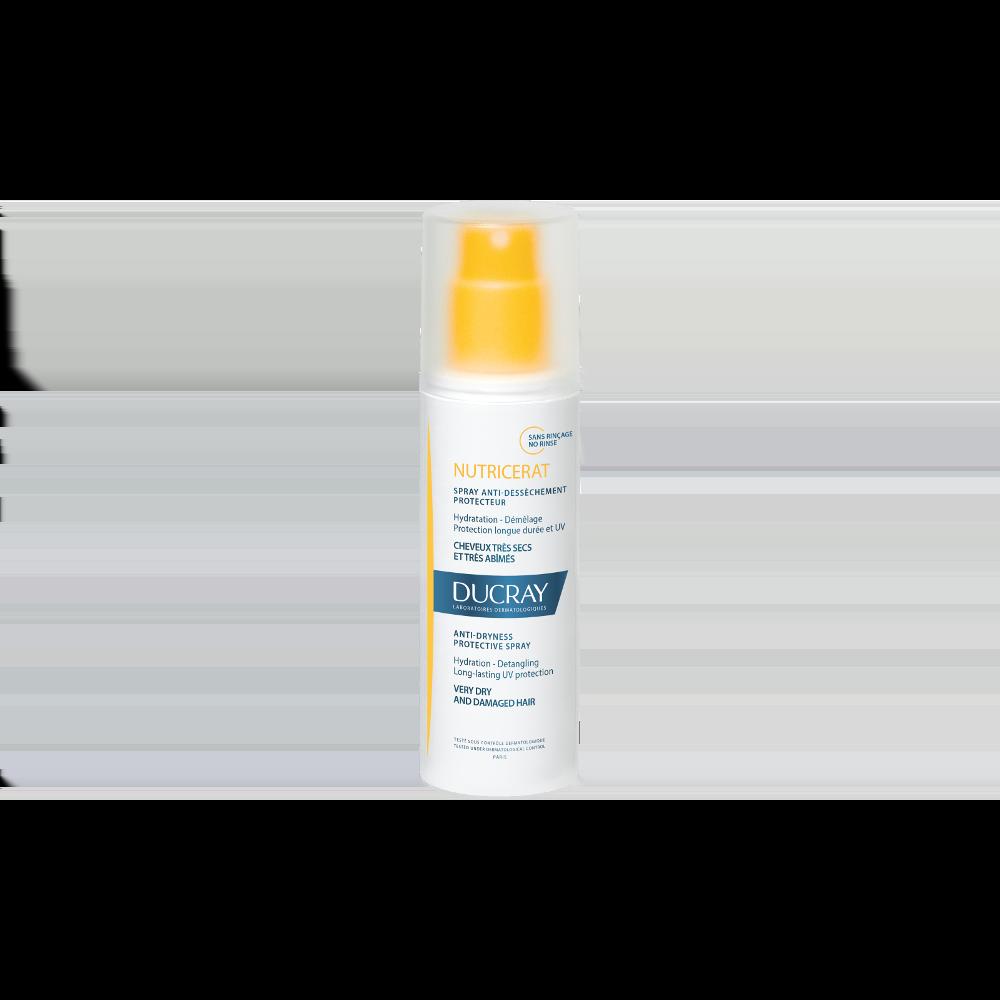 Ducray Nutricerat Anti-dryness Protective Spray Σπρέι για την Προστασία & την Ενυδάτωση των ξηρών & αφυδατωμένων μαλλιών, 75ml