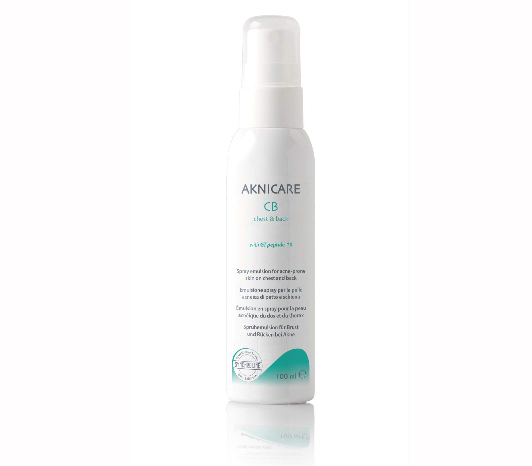 Synchroline Aknicare CB Chest & Back, 100ml