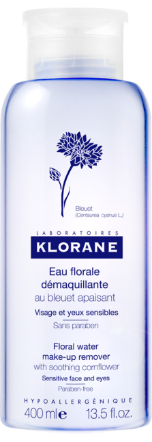 Klorane Eau Demaquillant, 400ml