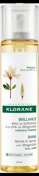 Klorane Leave-In Spray Magnolia Μαλακτικό Νερό Μαλλιών με κερί Μανόλιας για εκτυφλωτική λάμψη, 100ml
