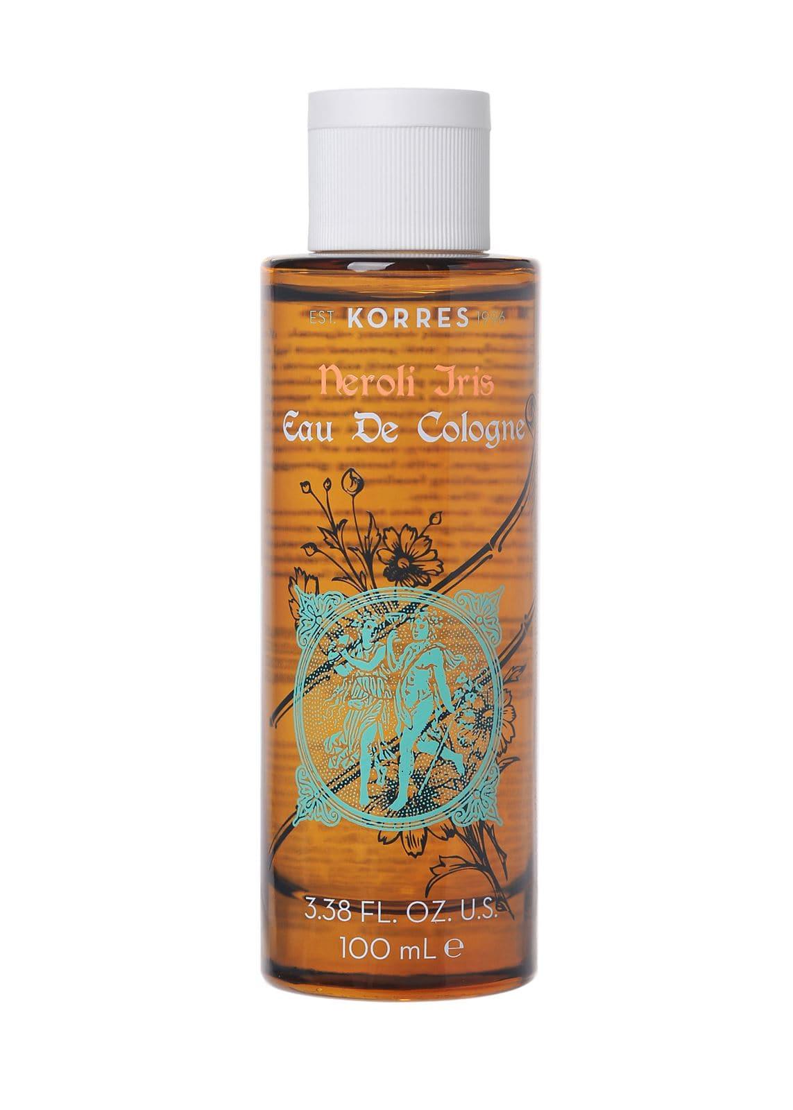 Korres Neroli Iris Eau De Cologne Κολόνια Νέρολι & Άρωμα Πούδρας από Μπουκέτα Ίριδας, 100ml