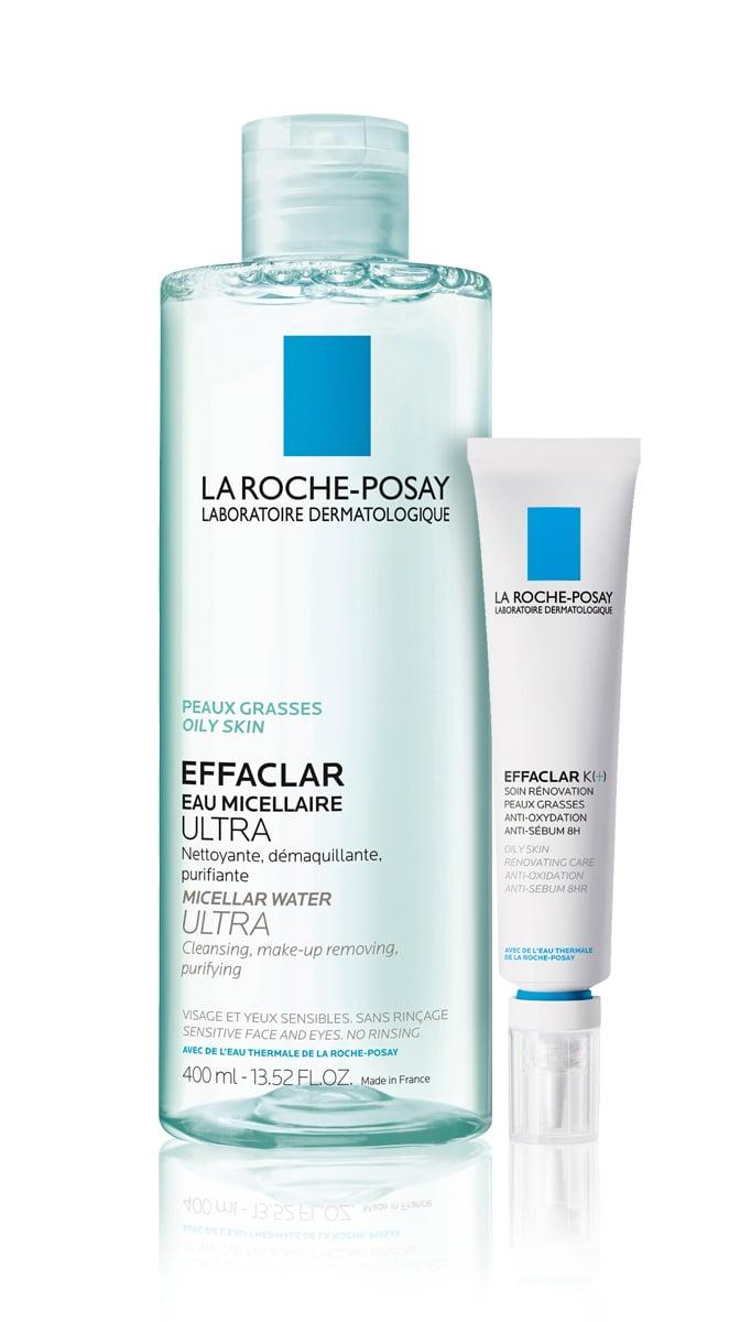 La Roche Posay Effaclar OFFER PACK with Effaclar Purifying Micellar Water, 400ml & Effaclar K (+), 30ml