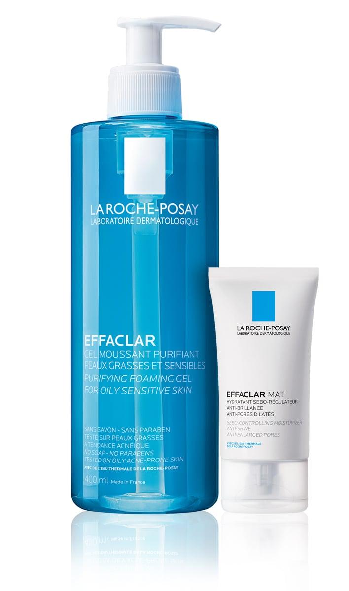 La Roche Posay Effaclar ΠΑΚΕΤΟ ΠΡΟΣΦΟΡΑΣ με Effaclar Gel Ζελ Καθαρισμού για Λιπαρό & Ευαίσθητο Δέρμα, 400ml & MAZI Effaclar Mat Ενυδατική Σμηγματορρυθμιστική Φροντίδα, 40ml