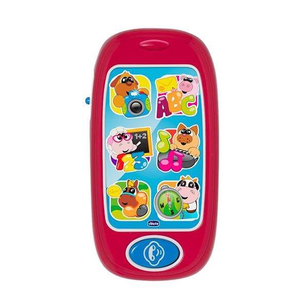 Chicco Smartphone με Ζωάκια 6m+, 1 τεμάχιο