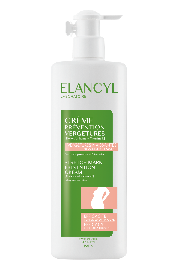 Elancyl Crème Prevention Vergetures, 500 ml
