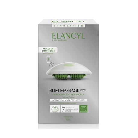 Elancyl Slim Massage Coach & Gant Τζελ για Μασάζ κατά της Κυτταρίτιδας, 200ml & Γάντι Αδυνατίσματος, 1 τεμάχιο