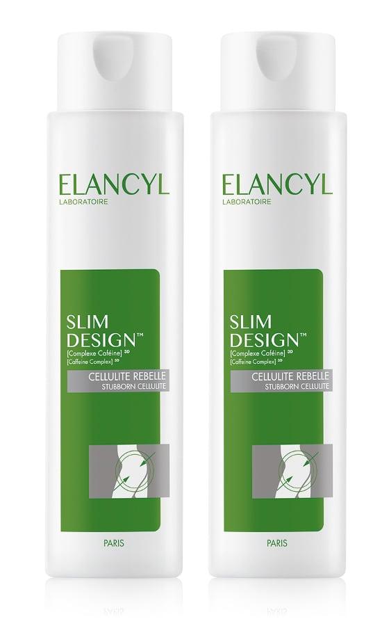 2 x Elancyl Slim Design Κρέμα Σώματος για την Αντιμετώπιση της Κυτταρίτιδας & του Τοπικού Πάχους, 2 x 200ml