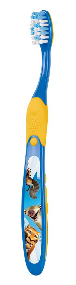 Elgydium Junior Ice Age Toothbrush Οδοντόβουρτσα για παιδιά ηλικίας 7 έως 12 ετών, 1τμχ - Μπλε