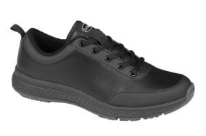 Scholl Professional Energy Plus Man Black Ανδρικό Ανατομικό Παπούτσι για απαιτητικούς επαγγελματίες, Μαύρο Χρώμα, 1 ζευγάρι