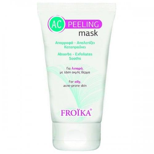 Froika AC Peeling Mask Μάσκα Προσώπου για Λιπαρό Δέρμα με τάση Ακμής, 50ml