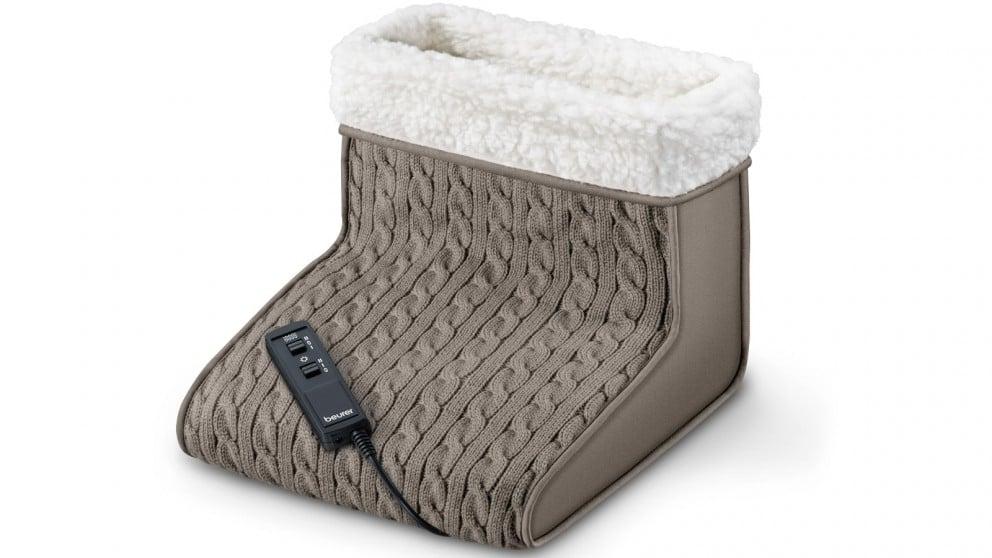 Beurer FWM 45 Massage Foot Warmer Ηλεκτρική Θερμοφόρα Ποδιών με Μασάζ, 1 τεμάχιο