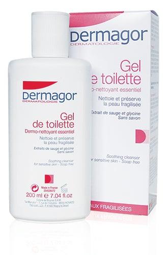 Inpa Dermagor Gel de Toilette (Surgras) PROMO ΜΕ ΜΕΙΩΜΕΝΗ ΑΡΧΙΚΗ Ήπιο Καθαριστικό για Ξηρά & Άτονα Δέρματα, 200ml