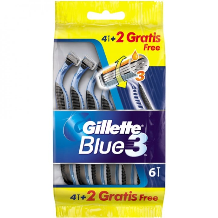 Gillete_Blue_3_6pcs