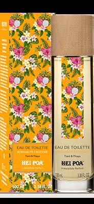 Hei Poa Exotic Sensuality Eau de Toilette Άρωμα με φρέσκες νότες από Καρπούζι, Κίτρο & Πιτάια, 100ml