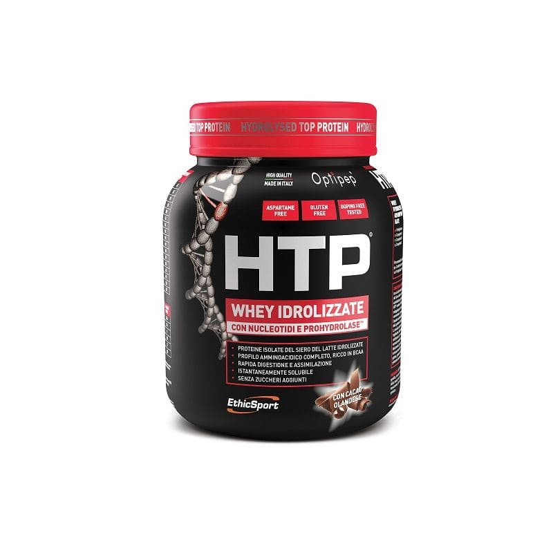 Ethicsport Protein HTP Choco Υδρολυμένη Πρωτεΐνη ορού γάλακτος, με γεύση σοκολάτα, 750gr