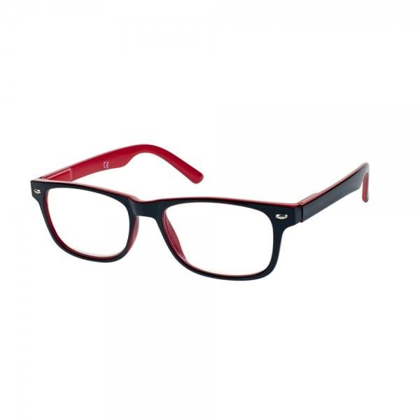 Vitorgan EyeLead Ε148 Unisex Γυαλιά Πρεσβυωπίας Κοκάλινο σε Μαύρο Κόκκινο Χρώμα, 1 τεμάχιο - 1.00