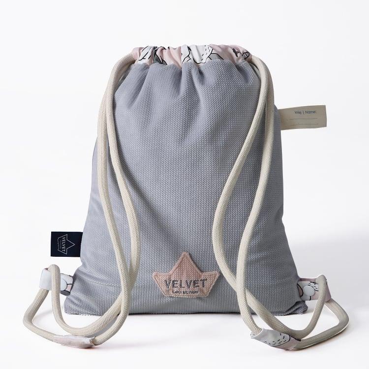 La Millou Dark Grey - Sugar Unicorn Παιδική Τσαντούλα 29cm x 37cm, 1 τεμάχιο