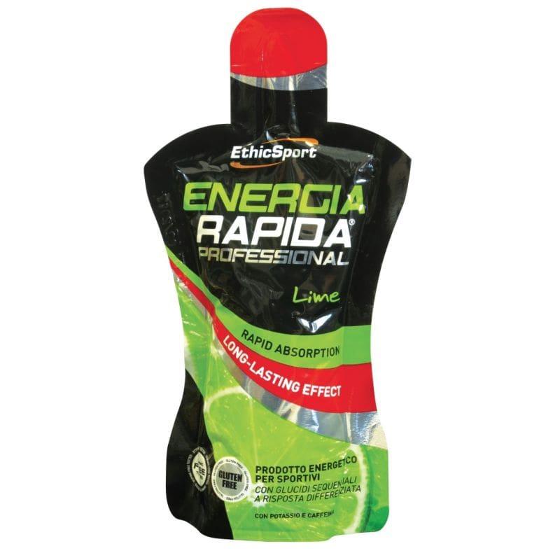 Ethicsport Energia Rapida Proffesional Lime Ενεργειακό Τζελ Υδατανθράκων με καφεΐνη, γεύση lime, 50ml