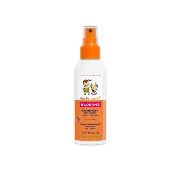Klorane Petit Junior Conditioner Spray with Sweet Peach Fragrance παλό Θρεπτικό Γαλάκτωμα σε Σπρέϊ, με άρωμα Ροδάκινο, 150 ml