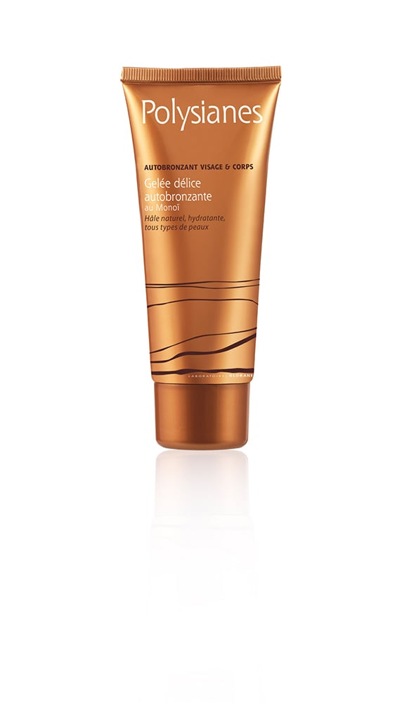 Polysianes Gelée Délice Autobronzante Face & Body Self-Tanner Delicious Jelly With Monoï , 100ml
