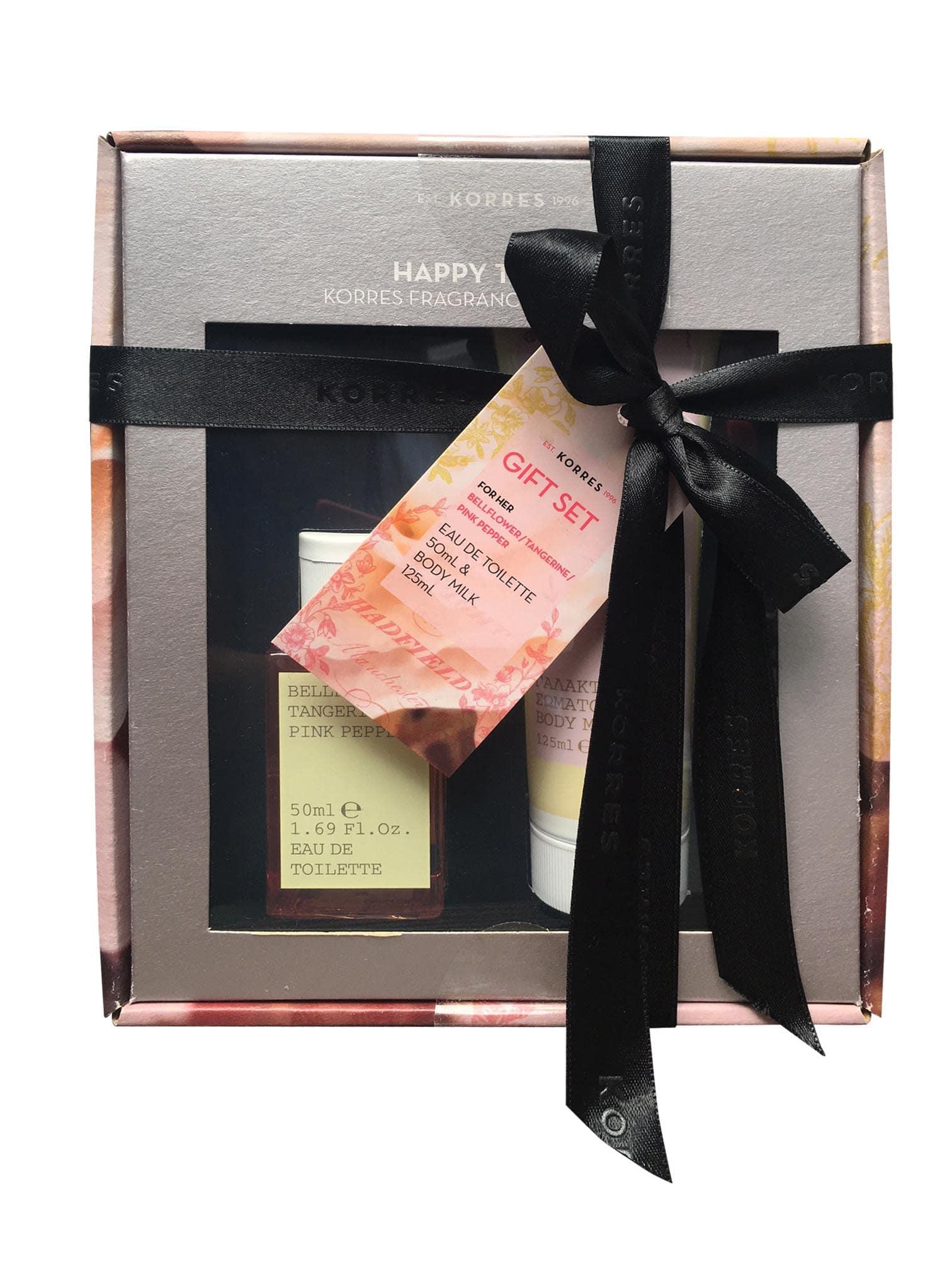 c45f6ab95d6 Korres Gift Set for Her incl. Eau de Toilette Bellflower / Tangerine / Pink  Pepper