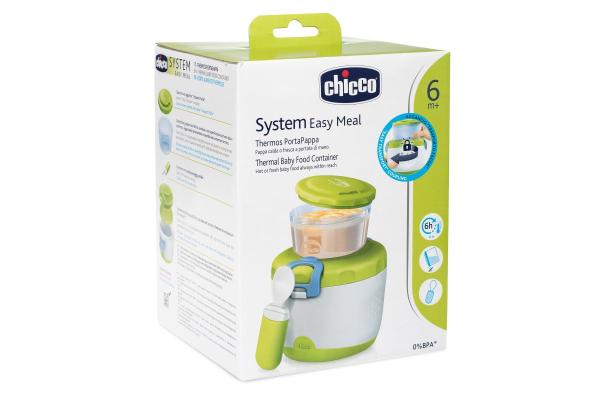 Chicco Thermal Lunch Box Θερμομονωτικό Δοχείο Φαγητού 6m+, 3 τεμάχια