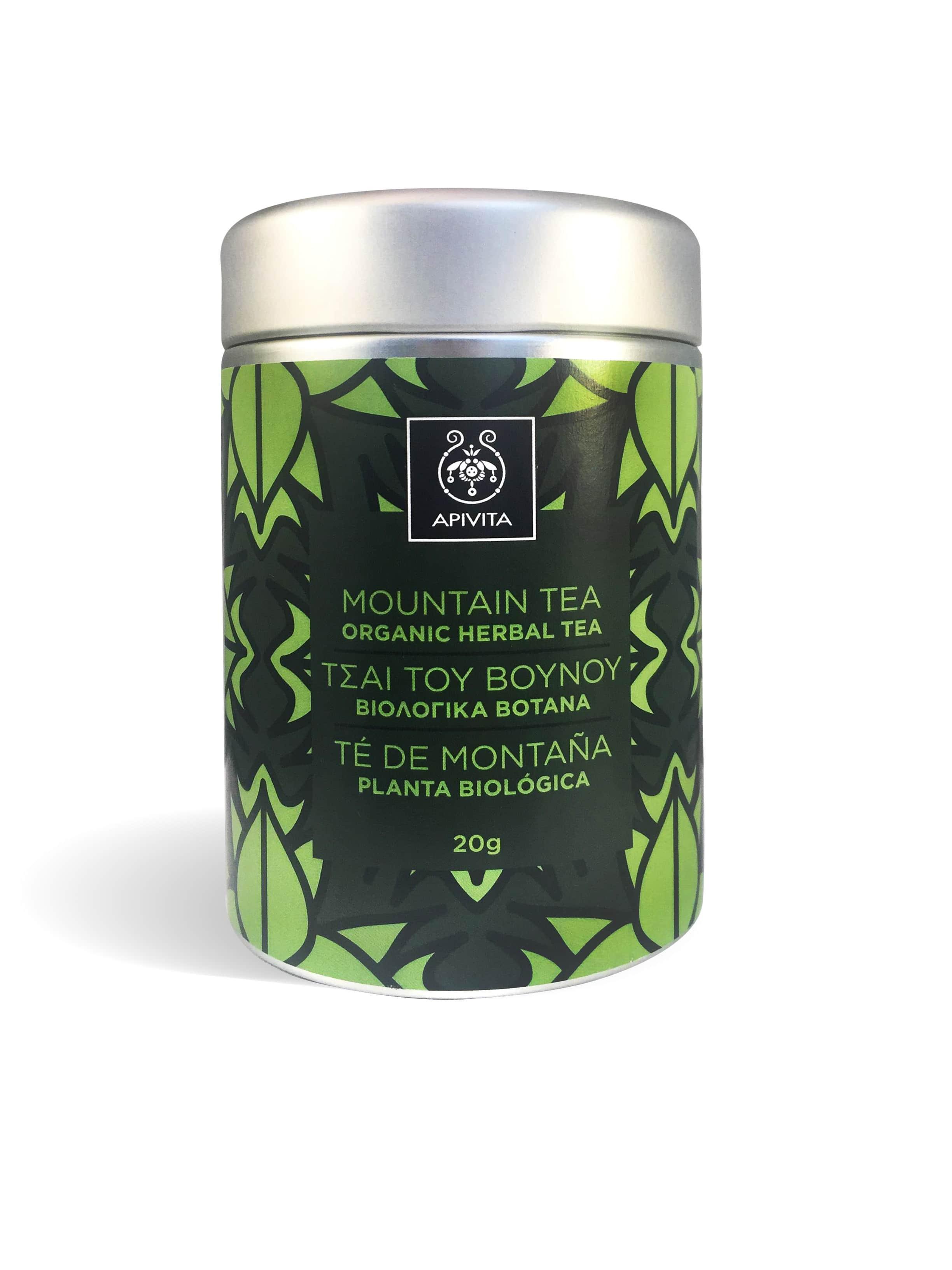 Apivita Τσάϊ του Βουνού από Βιολογικά Βότανα, 20gr