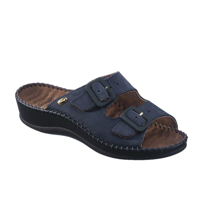 Scholl Weekend Mule Blue Ανατομικό Παπούτσι, Μπλε Χρώμα, 1 ζευγάρι - No.35