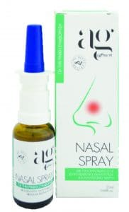 AG Nasal Spray with Hyaluronic Acid, Eucalyptus Essential Oil & Sea Water Ρινικό Σπρέι, 20ml