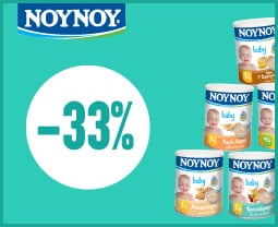 "Εικόνα του ""NOUNOU baby foods ! They care about your baby's nutrition! Discount -33%"""