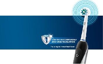 ORAL B Ηλεκτρικές Οδοντόβουρτσες με 3D Κινήσεις ανά Λεπτό - Περιστροφική Παλμική Κίνηση με Δόνηση