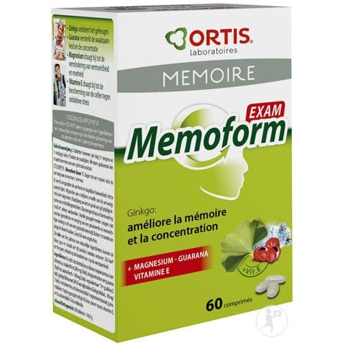 Ortis Exam Memoform Συμπλήρωμα Διατροφής για τη Μνήμη, 60 tabs