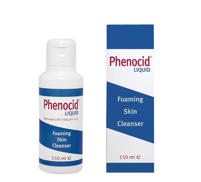 Health Art Phenocid Liquid Skin Cleanser Αφρίζον Καθαριστικό Δέρματος, 150ml