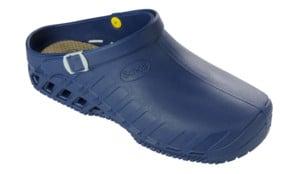 Scholl Professional Clog Evo Blue Unisex Ανατομικά Σαμπό, Μπλε Χρώμα, 1 ζευγάρι - Νο.40