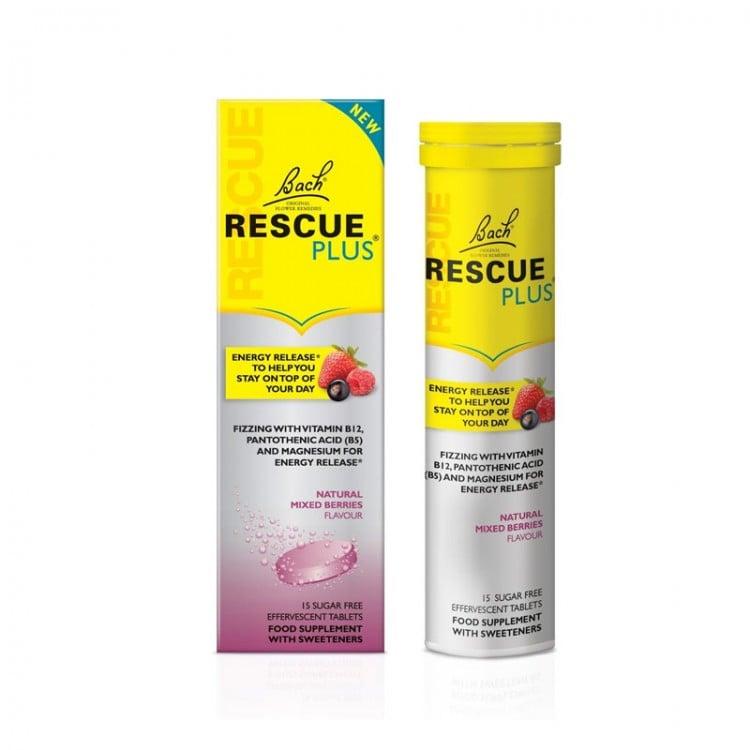 Power Health Bach Rescue Plus Συμπλήρωμα Διατροφής για τη Φυσιολογική Ψυχολογική Λειτουργία, 15 αναβρ.δισκία