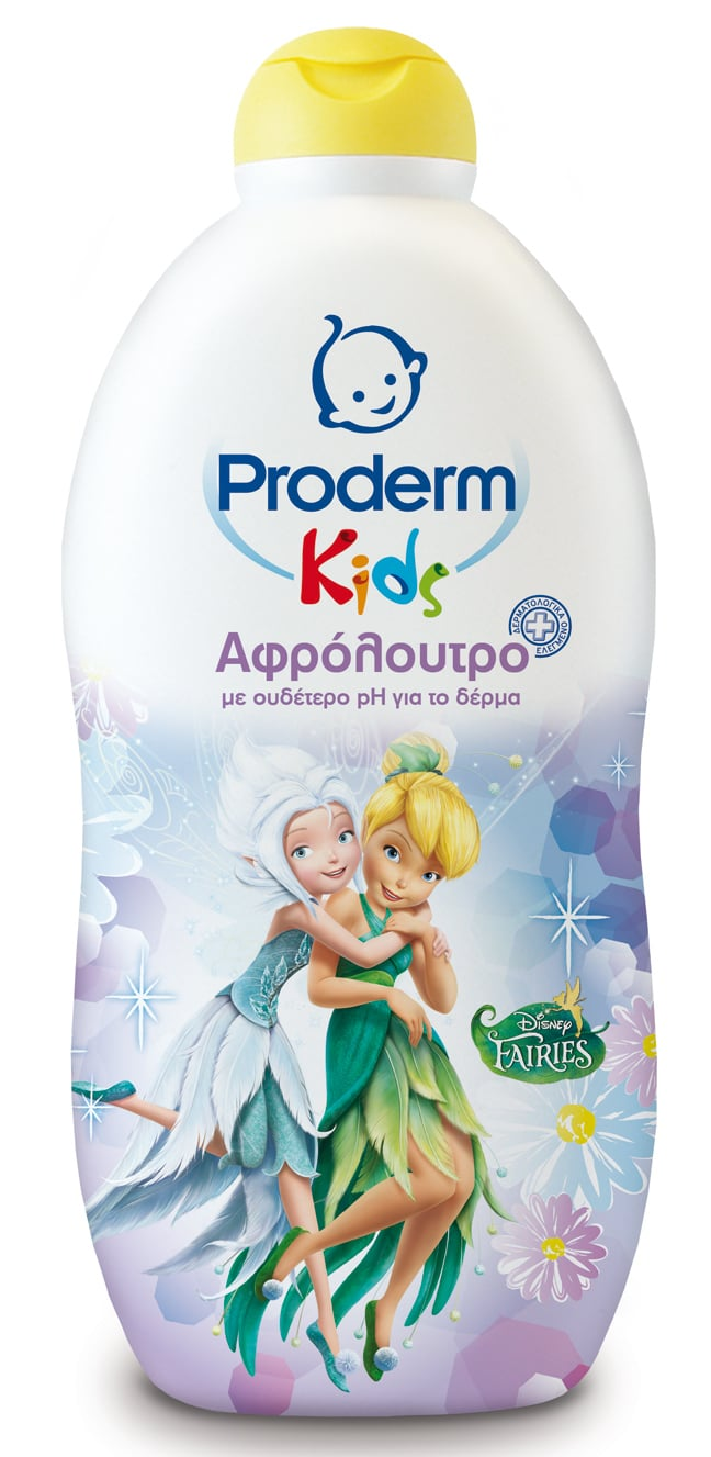 Proderm Αφρόλουτρο Kids Fairies για Κορίτσια, 500 ml