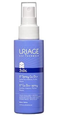 Uriage 1er Spray Cu-Zn+ Σπρει Κατά των Ερεθισμών του Βρεφικού Δέρματος, 100ml