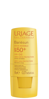 Uriage Bariesun Stick Invisible SPF50+ for Sensitive Areas, 8g