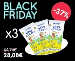 Soft, protective and waterproof daily care cream x3,with -37%