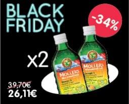 Bye More, Win More! Get 2x Moller's Μουρουνέλαιο Tutti Frutti, with -34%!