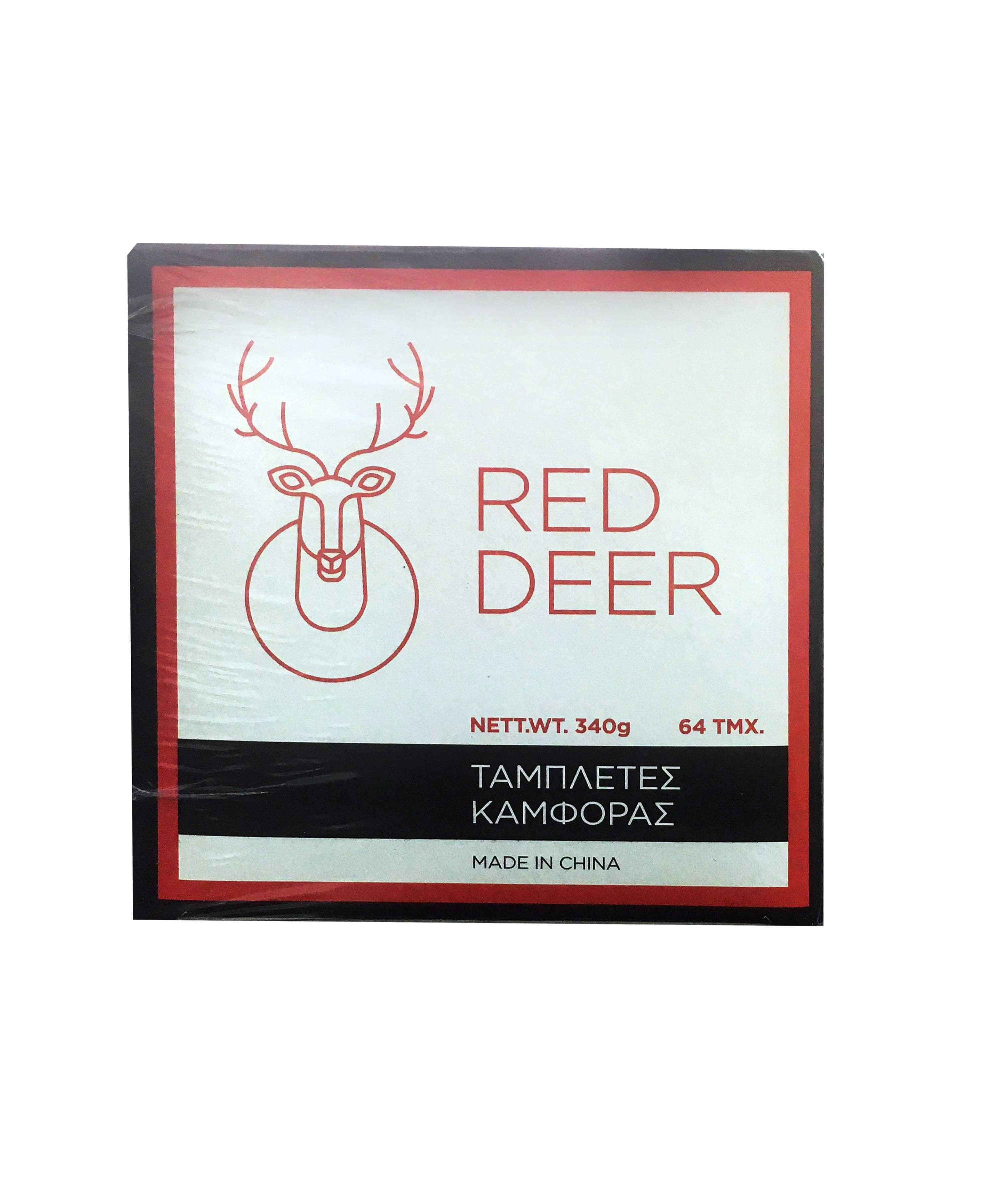 Red Deer Ταμπλέτες Καμφοράς, 64τμχ