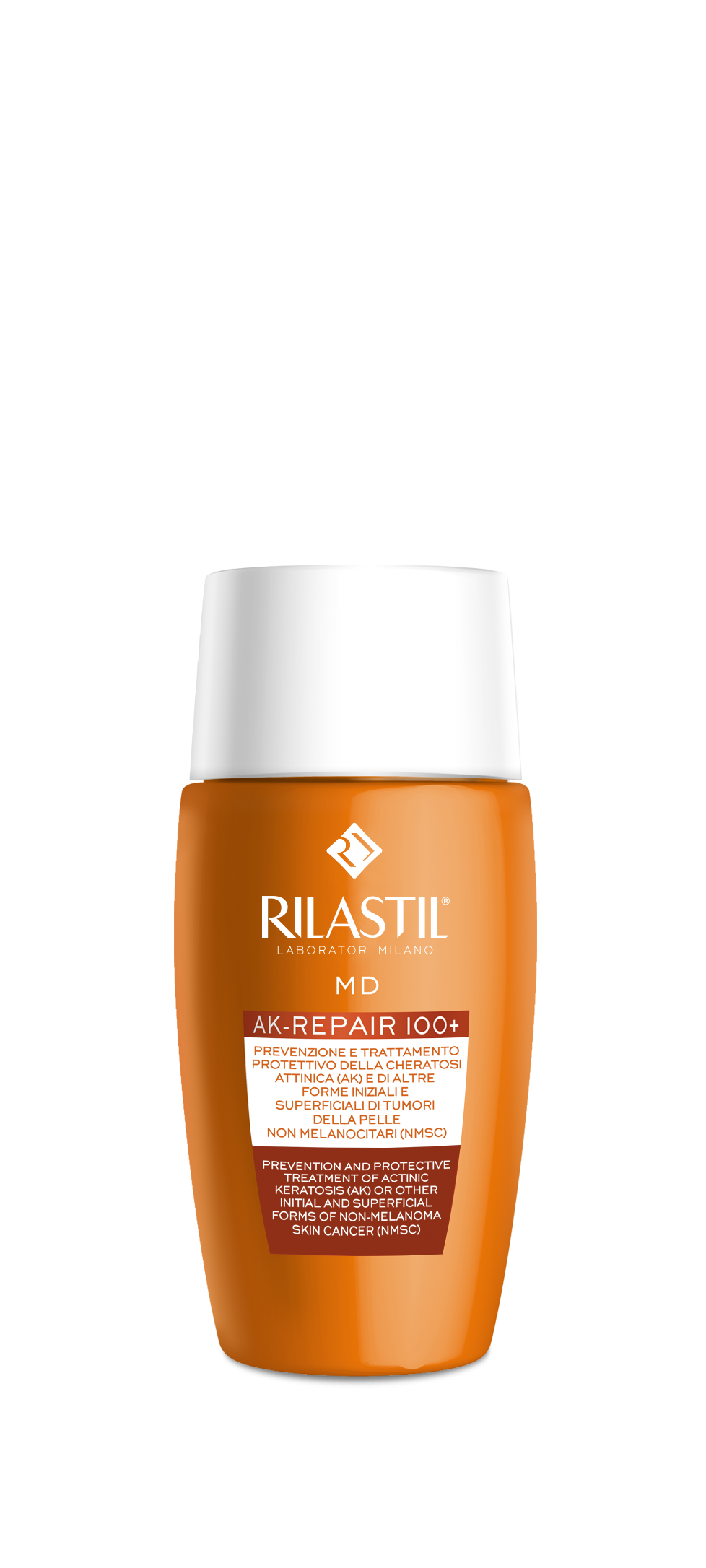 Rilastil MD AK-REPAIR 100+ Λεπτόρρευστο γαλάκτωμα ταχείας απορρόφησης, 50ml