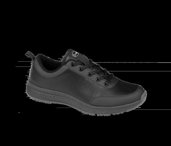 Scholl Professional Energy Plus Woman Black Γυναικείο Ανατομικό Παπούτσι για απαιτητικούς επαγγελματίες, Μαύρο Χρώμα, 1 ζευγάρι