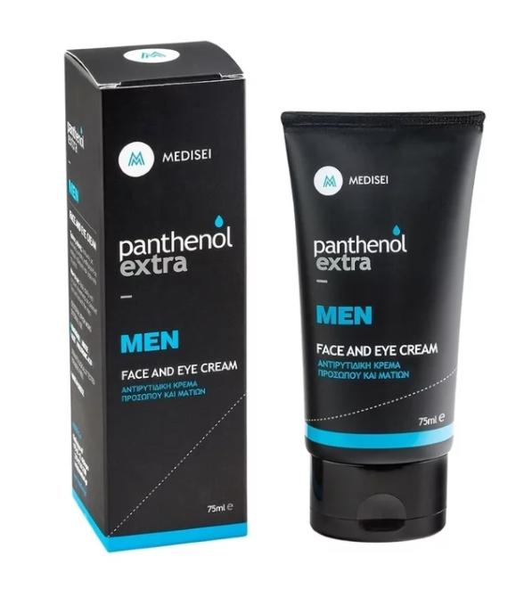 Panthenol Extra Men Face & Eye Cream Ανδρική Αντιρυτιδική Κρέμα Προσώπου & Ματιών, 75ml