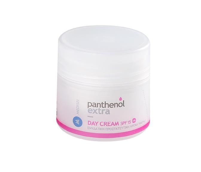 Panthenol Extra Day Cream SPF15 Ενυδατική Προστευτική Κρέμα Ημέρας, 50ml