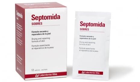 Laboratorios Vinas Septomida Sachets, 12 sachets