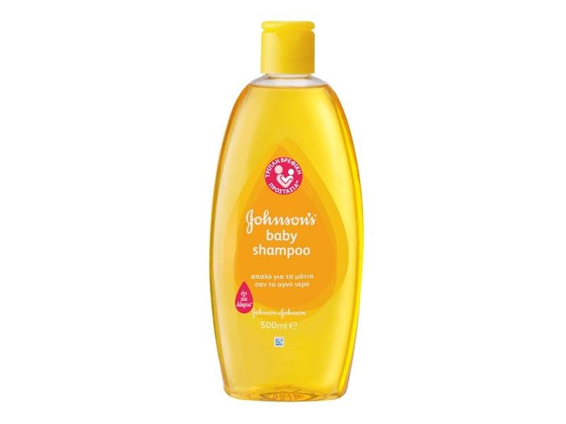 Johnson's Baby Shampoo Gold Βρεφικό Σαμπουάν, 500ml